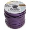 Flat Leather 5X2mm (10m Spool) Metallic Purple